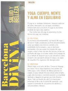 Revista Barcelona Divina Virayoga